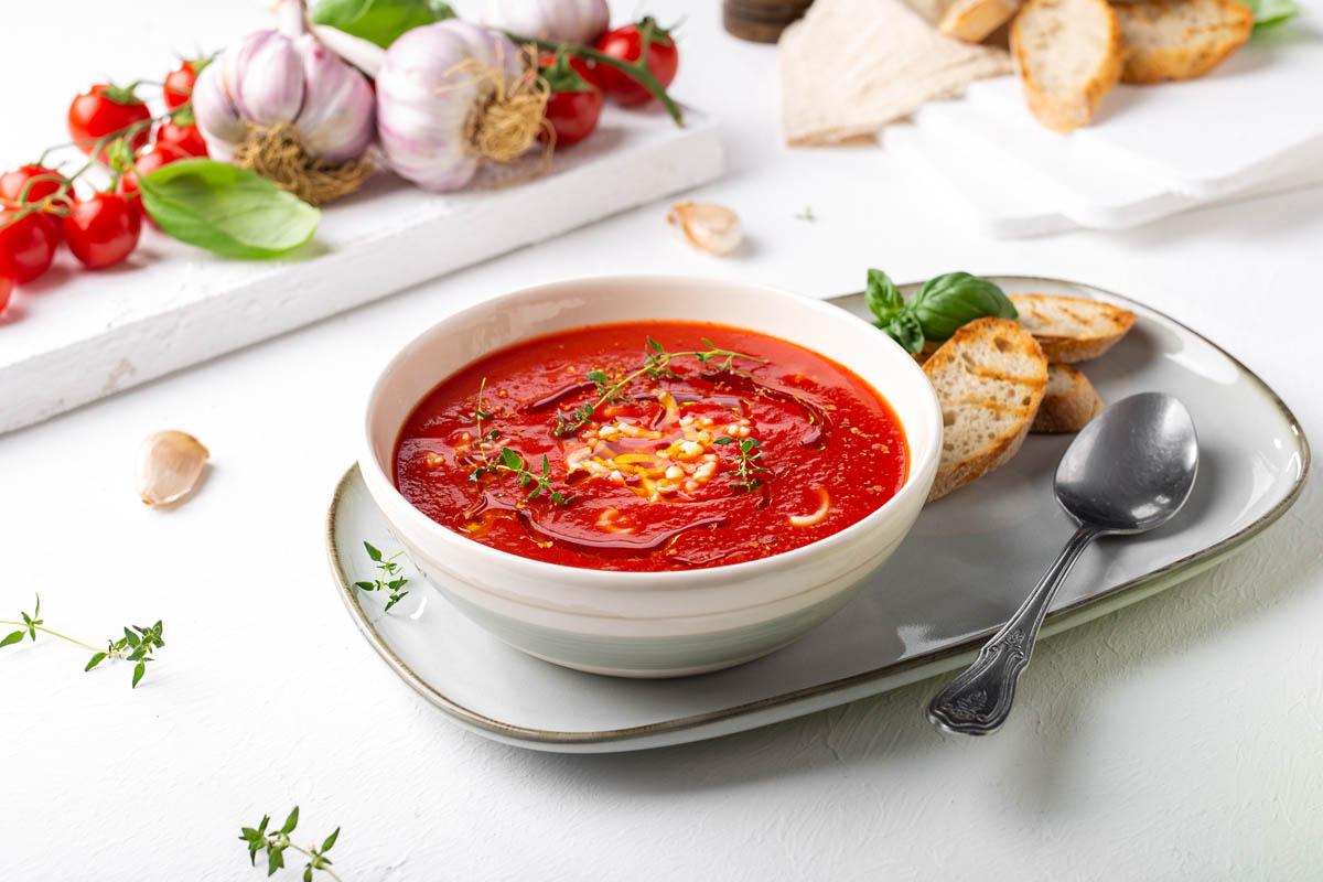 Ribana kašica i juha od rajčice