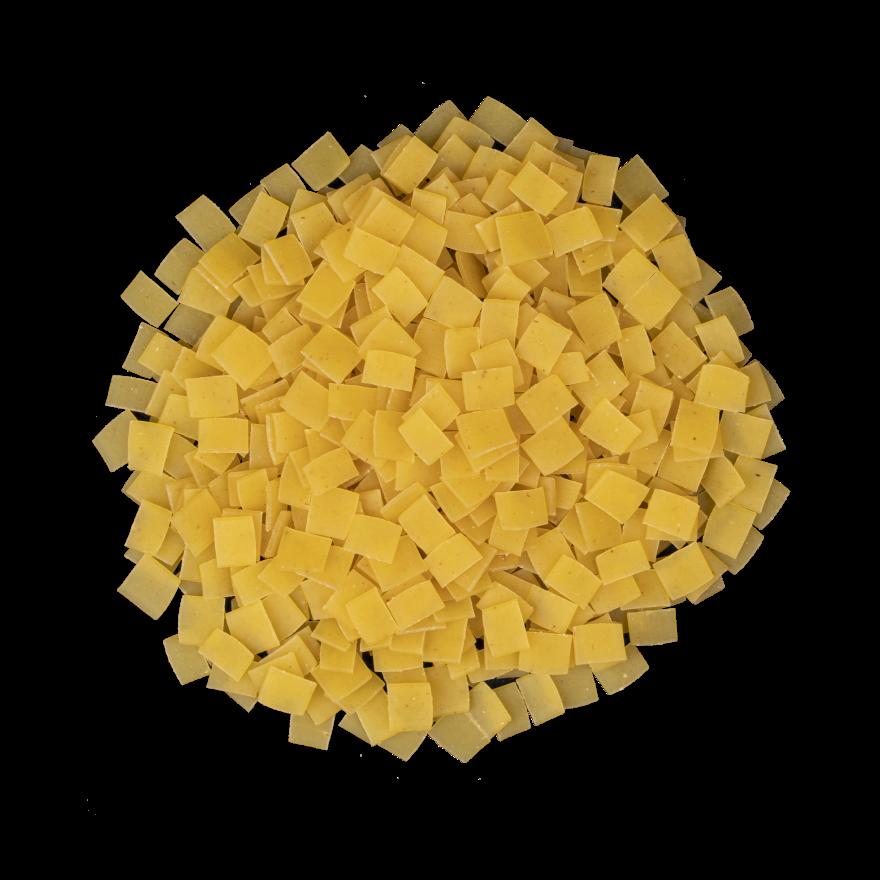 Kleine Fleckerlnudeln mit Eiern